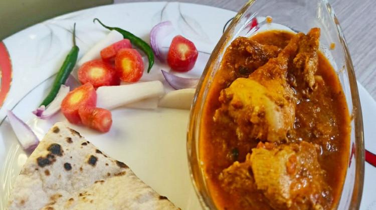 Punjabi masala chicken