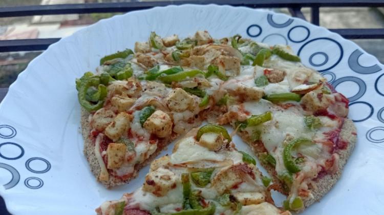 Keto Pizza with healthy twist