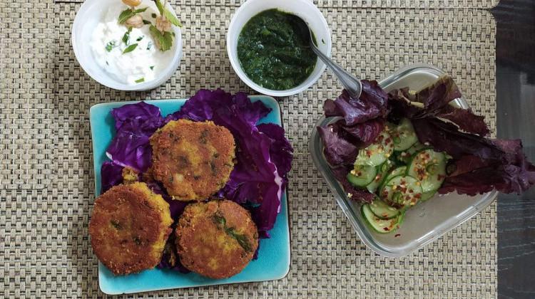 Chana dal Shami kabab