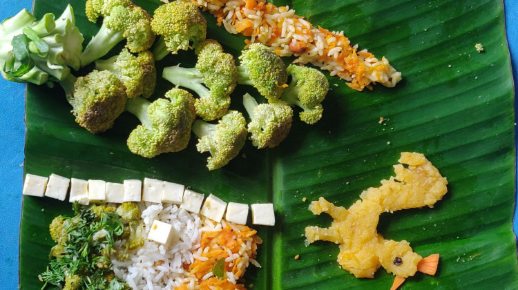ABC tricolor rice