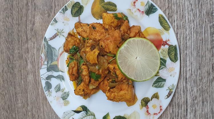 Chicken breast dry fry