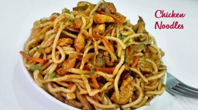 Fried Chicken Noodles
