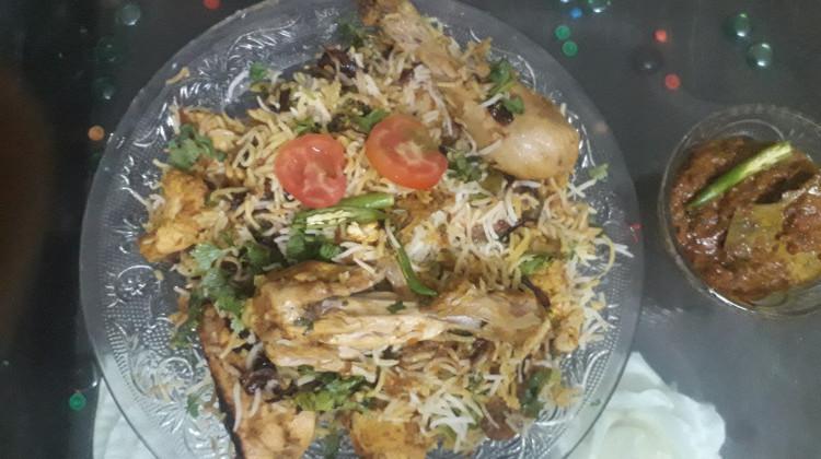 Jhat pat Chicken Biryani
