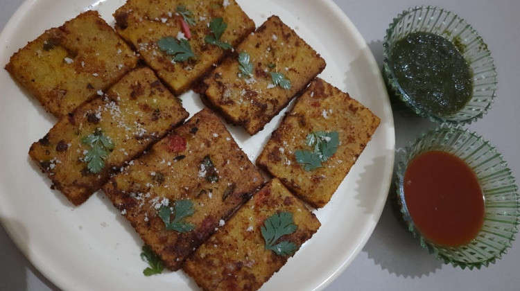 Crunchy Poha Cutlet